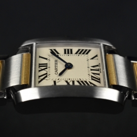CA21161S Cartier Ladies Tank Francaise Small Model Close9