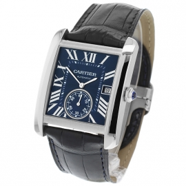 Cartier Tank Mc Blue Dial