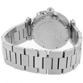 CA21558S Cartier Pasha GMT Back 1