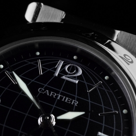 CA21558S Cartier Pasha GMT Close 4 1