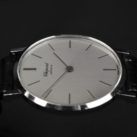 CH19091S Chopard Vintage Classic 18ct White Gold Close7