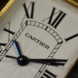 Cartier Tank Americaine 18ct Close6
