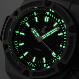HU1840P Hublot King Power Oceanographic 4000 Limited Edition Close1