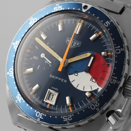 HU21556S Heuer Skipper Ref.73463 Close1