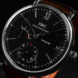 IW20914S IWC Portofino Hand Wound Eight Days Close1