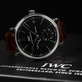 IW20914S IWC Portofino Hand Wound Eight Days Close10