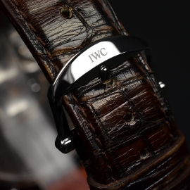 IW20914S IWC Portofino Hand Wound Eight Days Close3