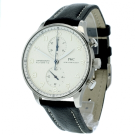 IWC Portuguese Chrono 18ct White Gold