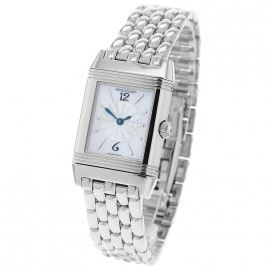 Jaeger LeCoultre Ladies Reverso Duetto 18ct White Gold