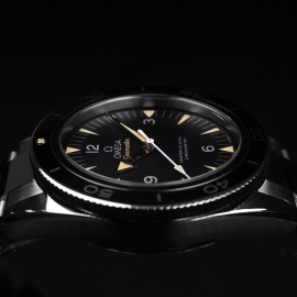 OM20743S Omega Seamaster 300 Master Co Axial Close10