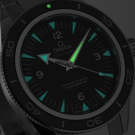 OM20743S Omega Seamaster 300 Master Co Axial Close1 1