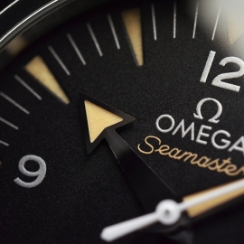 OM20743S Omega Seamaster 300 Master Co Axial Close5