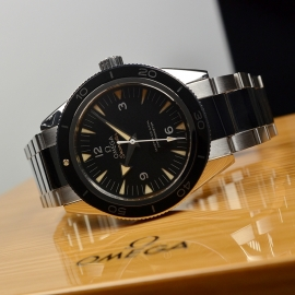 OM20743S Omega Seamaster 300 Master Co Axial Close9