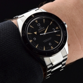 OM20743S Omega Seamaster 300 Master Co Axial Wrist