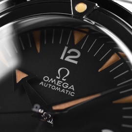 OM21091S Omega Seamaster 60th Anniversary 300 Co-Axial Master Close4