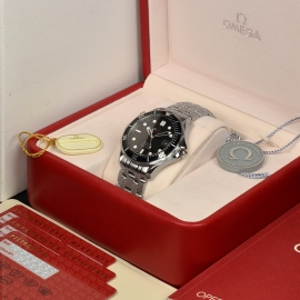 OM21212S Omega Seamaster Professional Co Axial Box