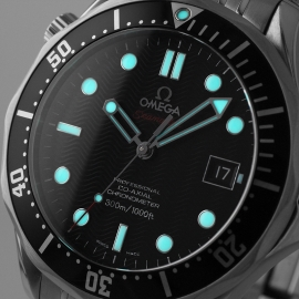 OM21212S Omega Seamaster Professional Co Axial Close1