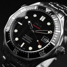 OM21212S Omega Seamaster Professional Co Axial Close2 1