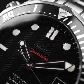 OM21212S Omega Seamaster Professional Co Axial Close5