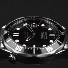 OM21212S Omega Seamaster Professional Co Axial Close8