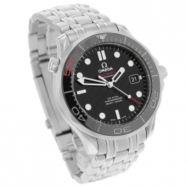 OM21517S Omega Seamaster Professional James Bond 007 50th Anniversary Collectors Edition Dial