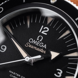 OM21657S Omega Seamaster 300 Master Co-Axial Close3