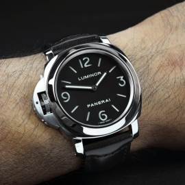 PA18149S Panerai Luminor Base Left Handed Wrist 1