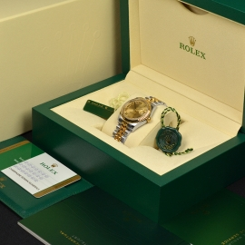 RO20074S Rolex Ladies Datejust Midsize Box