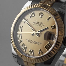 RO20074S Rolex Ladies Datejust Midsize Close1