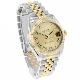 RO20074S Rolex Ladies Datejust Midsize Dial 1