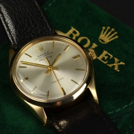RO20866S Rolex Vintage Air King Close10