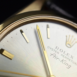 RO20866S Rolex Vintage Air King Close7