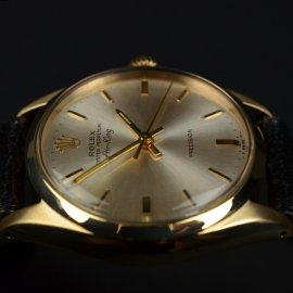 RO20866S Rolex Vintage Air King Close8