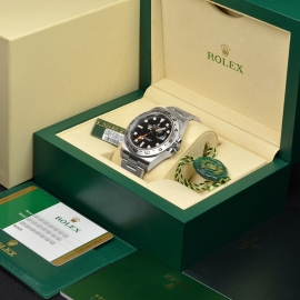 RO20976S Rolex Explorer II Orange Hand Box