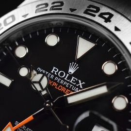 RO20976S Rolex Explorer II Orange Hand Close5 1
