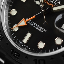 RO20976S Rolex Explorer II Orange Hand Close6 1