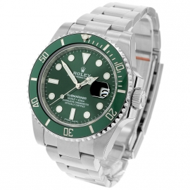 Rolex Submariner Date Green Bezel Fully Stickered