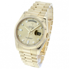 RO21229S Rolex Day Date 18ct Back