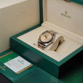 RO21620S Rolex Datejust 41 116333 Box