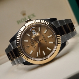 RO21620S Rolex Datejust 41 116333 Close10