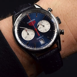 TA20876S Tag Heuer Carrera Calibre 17 Limited Edition Wrist