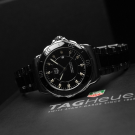 TA21021S Tag Heuer Ladies Formula 1 Steel and Ceramic Close11