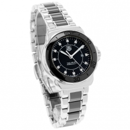 TA21021S Tag Heuer Ladies Formula 1 Steel and Ceramic Dial