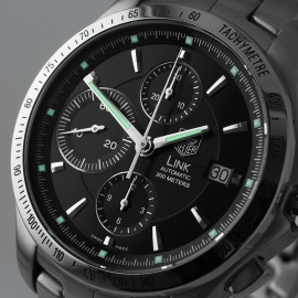 TA21335S Tag Heuer Link Calibre 16 Automatic Chronograph Close1