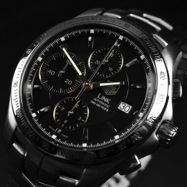 TA21335S Tag Heuer Link Calibre 16 Automatic Chronograph Close2