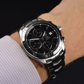 TA21335S Tag Heuer Link Calibre 16 Automatic Chronograph Wrist