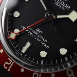 TU21367S Tudor Black Bay GMT Pepsi Bezel Close6 1