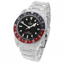 TU21367S Tudor Black Bay GMT Pepsi Bezel Back
