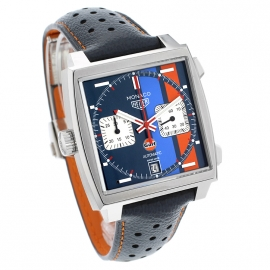 Tag Heuer Monaco Calibre 11 Gulf Limited Edition Dial