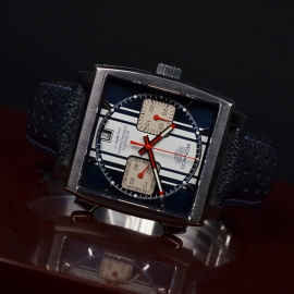 Tag Heuer Monaco Calibre 11 Steve McQueen Limited Production Close10